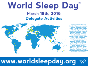 World sleep day